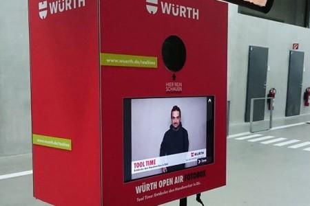 Brandingvorlagen vorhanden Photobooth