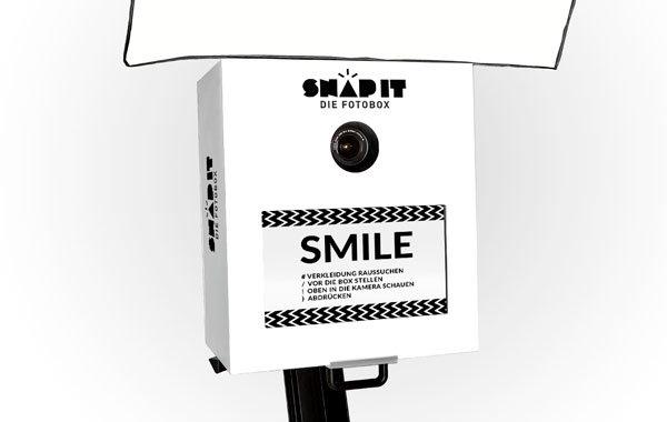 Unsere Fotobox Snap-Classic